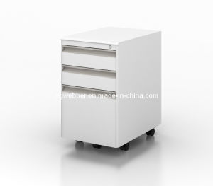 Metal Mobile Pedestal for Convenient File Storage pictures & photos