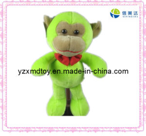 Lovely Plush Green Monkey Toy pictures & photos