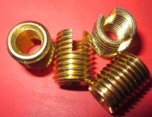 Customized Brass Threaded Insert for Plastic (M2*0.4---M42*4.5)