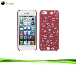 Bird′s Nest Protector Cover for iPhone 5 (Red)
