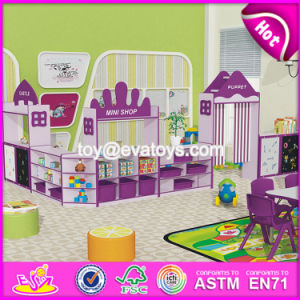 Customized Early Education Center Furniture Mini Wooden Kids Shop W08c207 pictures & photos