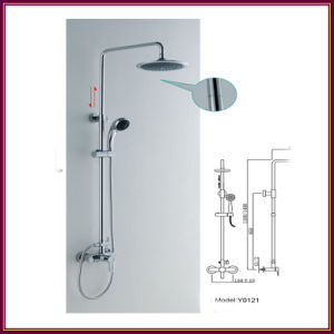Brass Shower Mixer, Bathroom Shower Tap, Shower Enclosure Shower Head (Y0121)