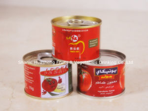 28%-30% Canned Tomato Paste 3 pictures & photos