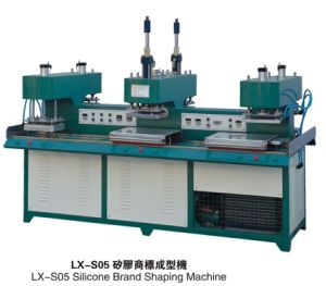 Silicone Clothing/Fabric Label Pressing Machines for Factory pictures & photos