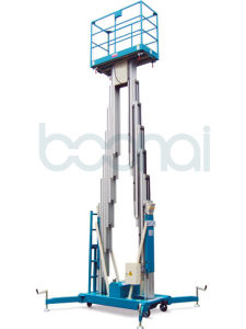 Double Masts Aluminium Lift for Aerial Work for 6 M pictures & photos