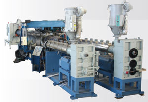HDPE Double-Wall Corrugated Pipe Production Line (SBG-500)