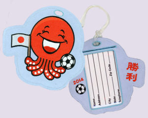 Japan Embroidered Luggage Tags (Bus Pass Or Stored Value Card Holder) pictures & photos