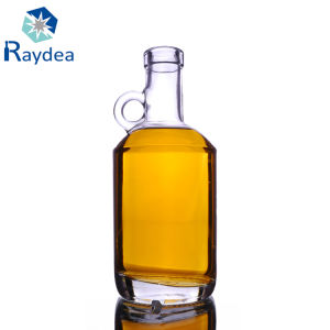 500ml French Square Glass Bottle with Plastic Cap pictures & photos