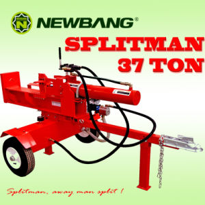 Wood Log Splitter Gasoline 37ton (TS37T/610HV-G) pictures & photos