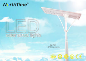PIR Smart LED Solar Street Light IP65 90W pictures & photos