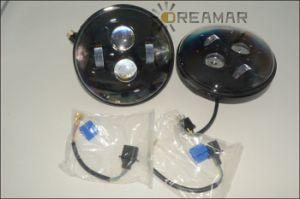 7inch 30W-LED for Jeep Headlight with Hi/Low Beam pictures & photos