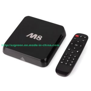 Xbmc Gotham Android Kitkat TV Box Amlogic S802 M8 Quad Core 2.0GHz 2GB 8GB Bluetooth Dual WiFi TV Receiver
