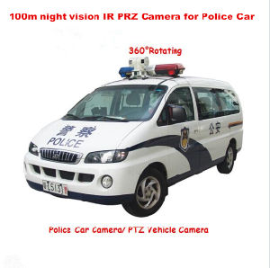 Shockproof Mobile Car Mounted PTZ IR HD IP Camera pictures & photos
