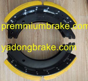 Brake Lining 19487 for Mercedes Benz pictures & photos