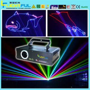 Cheap 1W RGB Animation Stage Laser Light Display Show