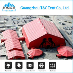 High Quality PVC Tarpaulin Waterproof Moroccan Prices Tent pictures & photos