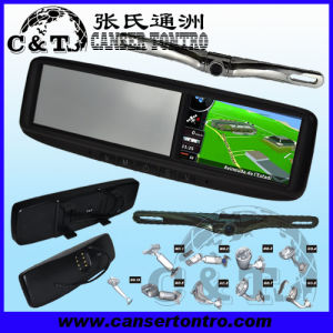 "4.3"" Car Rear View Mirror GPS LCD Monitor With Camera Kit (RVGSCDZ)"