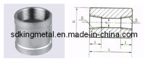 Stainless Steel Threaded Couping (JB/ZQ4423) pictures & photos