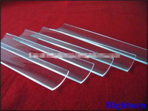 High Purity Clear Arc Silica Quartz Glass Plate pictures & photos