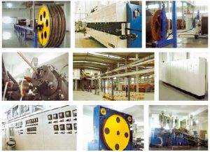 Catenary Continuous Vulcanization (CCV) Line for Power Cables pictures & photos