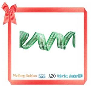 "7/8"" Organza Jacquard Ribbon for Decoration Gift Packing"
