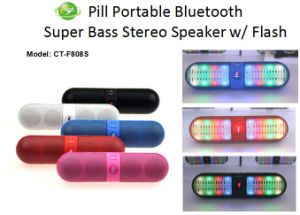 Portable Wireless Surround Sound Pill Bluetooth Speaker pictures & photos