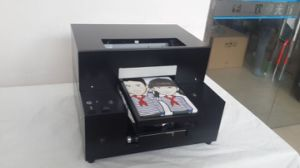 Cheapest A3 A4 Size Digital Flatbed T-Shirts Printer Printing Machine Can Print Any Colors pictures & photos