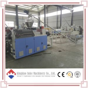 Conical Twin Screw Extruder Machine with Ce ISO Certified pictures & photos