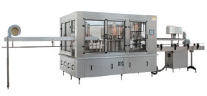 XGF Series Gravity Washing, Filling and Capping 3-in-1 Machine