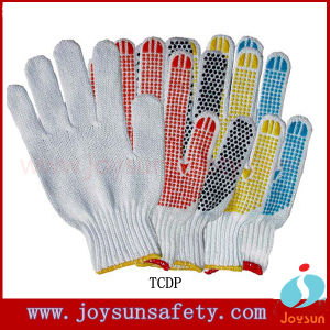 Working Protective Hand 10g Cotton Knitted Gloves (TC01)