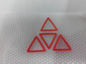 2015 Vivid 3D Rubber Label for Garment/Apparel, T-Shirt, Hats, Shoes