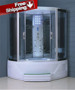 Free Shipping Door to Door Steam Shower (S-8808) pictures & photos