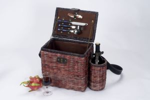 Seagrass Picnic Basket for 2 Person (SBA-3739)