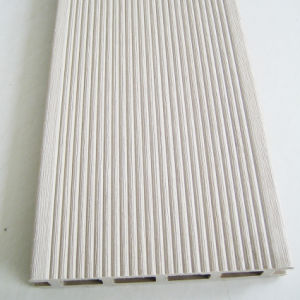 China wpc deck composite decking in light grey white for White composite decking