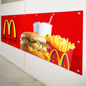 Custom Made PVC Vinyl Banner for Advertising pictures & photos