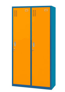 Steel Locker Two Door Locker (JH-S1046)