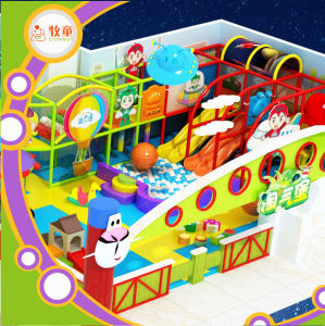 Amusement Park for Kids and Adults Kids Playground Gavanized Pipe Indoor Playground Soft pictures & photos