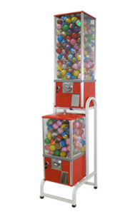 Capsule Vending Machine with Rack - A2R