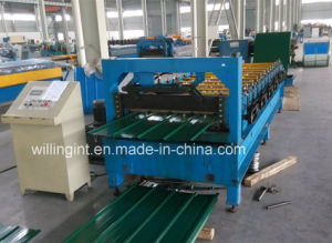 Newest Galvanized Steel Sheet Wall Roll Forming Machine pictures & photos