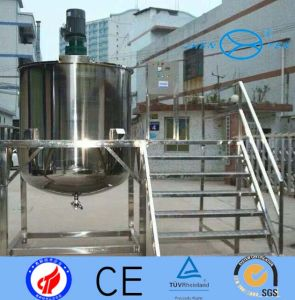 Sanitary Polished Surface Stainless Steel Mixing Tank Sealed Single Layer pictures & photos