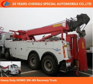 HOWO Heavy Duty 40t Wrecker Truck Destructor pictures & photos