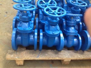 Non-Rising metal Seated Gate Valve with Manual Operated