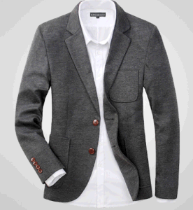 China Top-Quality Men′s Casual Fashion 2 Button Suit Jacket Blazer