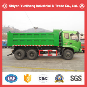 6X4 Heavy Tip Lorry Truck/10 Wheeler Dump Tipper Specifications pictures & photos