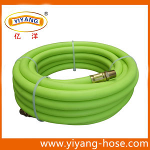 "Fluorescent Green 3/8"" Air Hose with 1/4"" NPT Fittings pictures & photos"