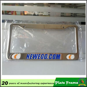 Good Quality Embossed License Plate Frame pictures & photos