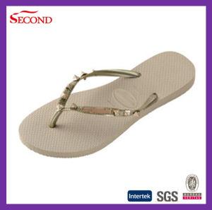 OEM Supplier Rivet Lady Flip Flops pictures & photos