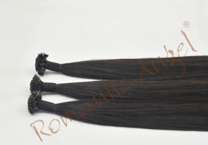 Deluxe Double Drawn Italy Keratin Tip Remy Hair Extensions pictures & photos