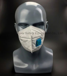 """Fold & Flat """"C"""" Type Dust Mask with Valve (DM2016-1) pictures & photos"""