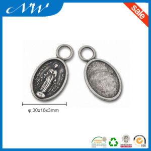 Classical Metal Plate Badge Alloy Label